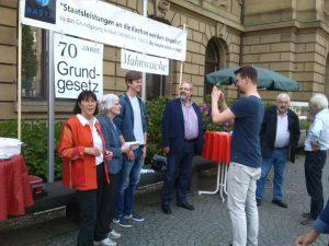 BAStA vor dem Museum König, Bonn